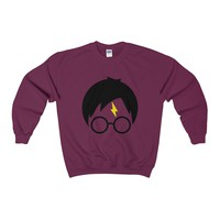 Harry Potter Lightning Scar Crewneck Sweatshirt
