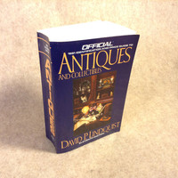 Signed edition of - Official 1991 Identification and Price Guide to Antiques and Collectibles by David P. Linquist
