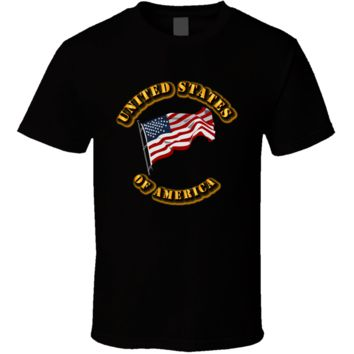 United States of America - Flag T Shirt