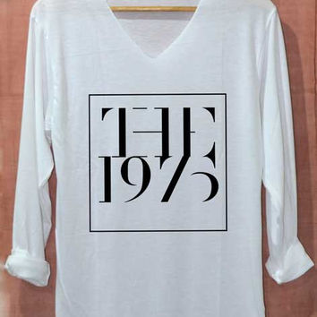 The 1975 Shirt Music Top Shirts Long Sleeve Unisex Adults Size S M L
