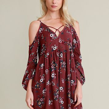 Earlybird Floral Dress | Threadsence