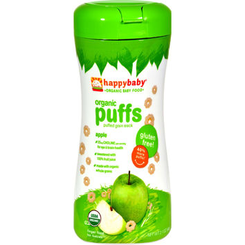 Organic Puffs Apple - Case of 6