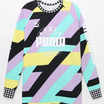 DCCKJH6 Puma x Diamond Supply Co Long Sleeve T-Shirt