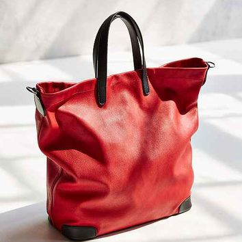 Silence + Noise Structured Base Pebbled Tote Bag