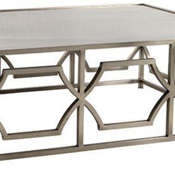 Antique Nickel Coffee Table