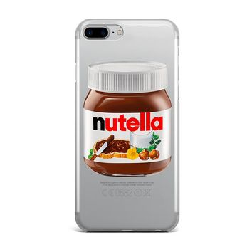 LARGE NUTELLA CUSTOM IPHONE CASE