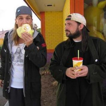 Clerks 2 Jay And Silent Bob Movie poster Metal Sign Wall Art 8in x 12in