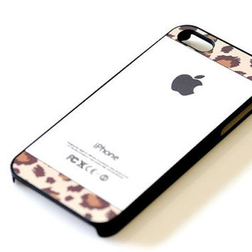 Animal Print iPhone Case - Earth Tone Leopard