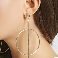 Matchstick Hoop Earrings