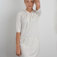 Aly Hooded Dress