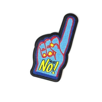 HOME :: Pins & Patches :: PATCHES :: Hell No! Patch