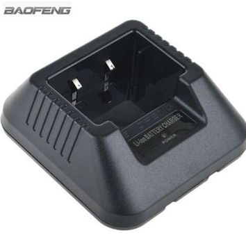 ONETOW New Original Desktop Charger base Suit For BAOFENG Walkie Talkie UV-5R