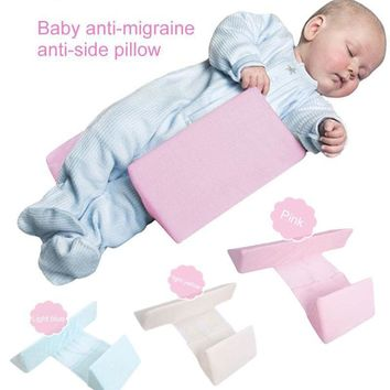 Anti-Roll Infant Baby Shaping Pillow Sleep Support Safe Adjustable Wedge Cushion Nursing Pillow
