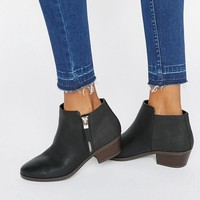 Call It Spring Gunson Zip Ankle Boots at asos.com