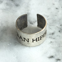 Silver Urban Hippie Ring
