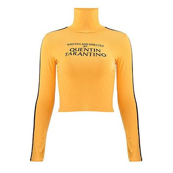 Written & Produced By Quentin Tarantino Long Sleeve Turtleneck