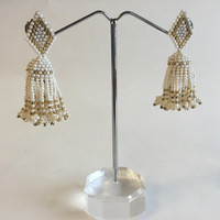 Ethnic Jewelry, Bead Earring
