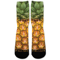 Pineapple Pina Colada Custom Athletic Fresh Socks