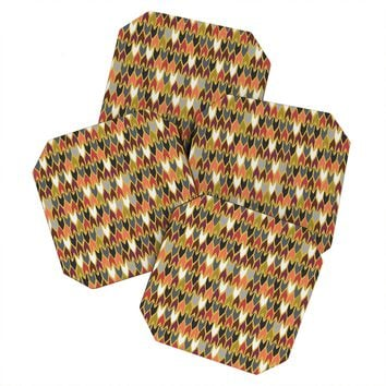 Sharon Turner Saffron Pepper Coaster Set