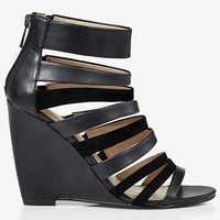 STRAPPY WEDGE SANDAL from EXPRESS