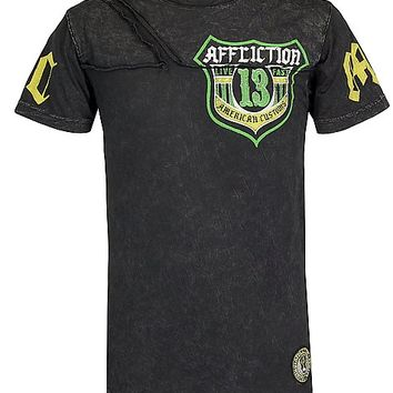 Affliction American Customs ACMC Shield T-Shirt