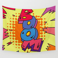 quoate Wall Tapestry by PINT GRAPHICS