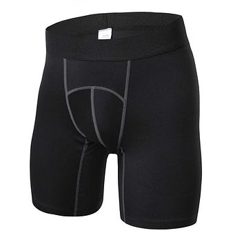Newest Men Compression Gym Sports Shorts Fitness Athletic Jogging Fitness Shorts