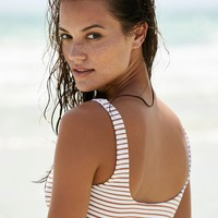 Free People Miller Stripe Bikini Top