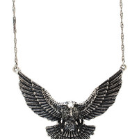 eagle-necklace-set DKSILVER GOLD - GoJane.com