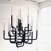 Rise of Flame Chandelier