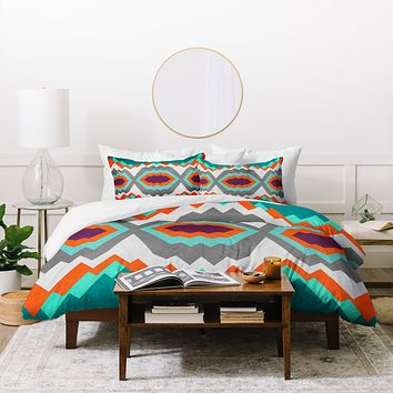 Elisabeth Fredriksson Valley Pattern Duvet Cover