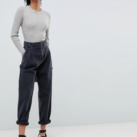 ASOS DESIGN ribbed jumper in fine knit at asos.com