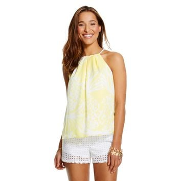 Lilly Pulitzer for Target Women's Halter Top - Pineapple Punch