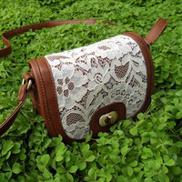 Cute Lace Cross Body Bag
