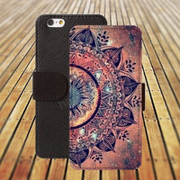 iphone 5 5s case flowers life fire Mandara iphone 4/4s iPhone 6 6 Plus iphone 5C Wallet Case,iPhone 5 Case,Cover,Cases colorful pattern L351