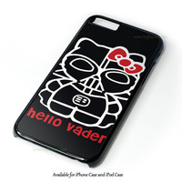 Hello Darth Vader Design for iPhone 4 4S 5 5S 5C 6 6 Plus, and iPod Touch 4 5 Case