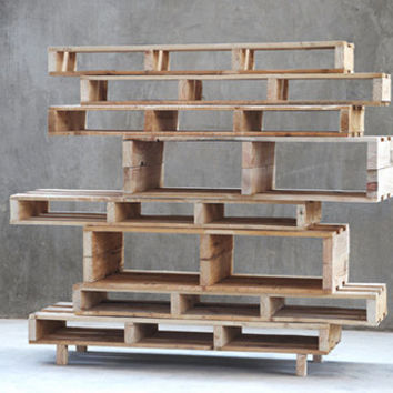 Pallet furniture - Shelf