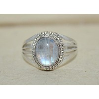 925 Sterling Silver Ring Moonstone Ring boho Ring