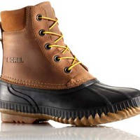 Sorel Cheyanne Lace Full Grain Boot for Men in Chipmunk NM1704-224