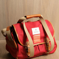 Nigel Cabourn Oil Cloth Cotton Bag | LN-CC