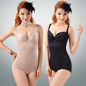 Tummy Suit Control Girdler Underbust Slimming Shapewear Full Body Shaper Firm SV001920 Underwear = 1651276100