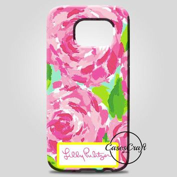 Lilly Pulitzer First Impression Rose Inspired Samsung Galaxy Note 8 Case | casescraft