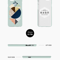 iPhone case - 'Abstract Nature' - iPhone 5s case, iPhone 6s case, iPhone 6 Plus case, iPhone SE, iPhone 7, non-glossy hard shell C22