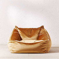 Cooper Velvet Lounge Chair | Urban Outfitters