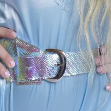 Iridescence Snake Belt