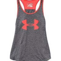 Under Armour Big Girls' UA Big Logo Tank