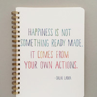 Dalai Lama Quote Journal - Large