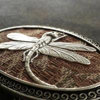 Womens Dragonfly Belt Buckle