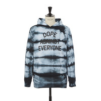 Tie-Dye Dope Against Everyone Pullover
