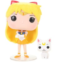 Funko Sailor Moon Pop! Animation Sailor Venus & Artemis Vinyl Figures